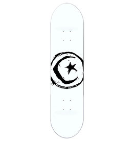 Foundation Foundation Deck Team Star And Moon White (8.5)