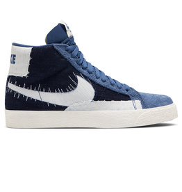 "Nike SB Nike SB Shoe Zoom Blazer Mid Premium ""Sashiko"" (Mystic Navy/Sail/Gum)"