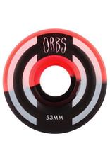 Orbs Wheels Orbs Wheels Apparitions Splits Coral/Black (53mm/99a)