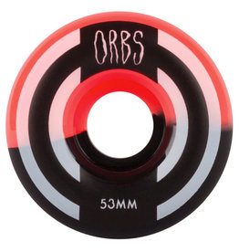 Orbs Wheels Orbs Wheels Apparitions Splits Coral/Black (53mm/99a)