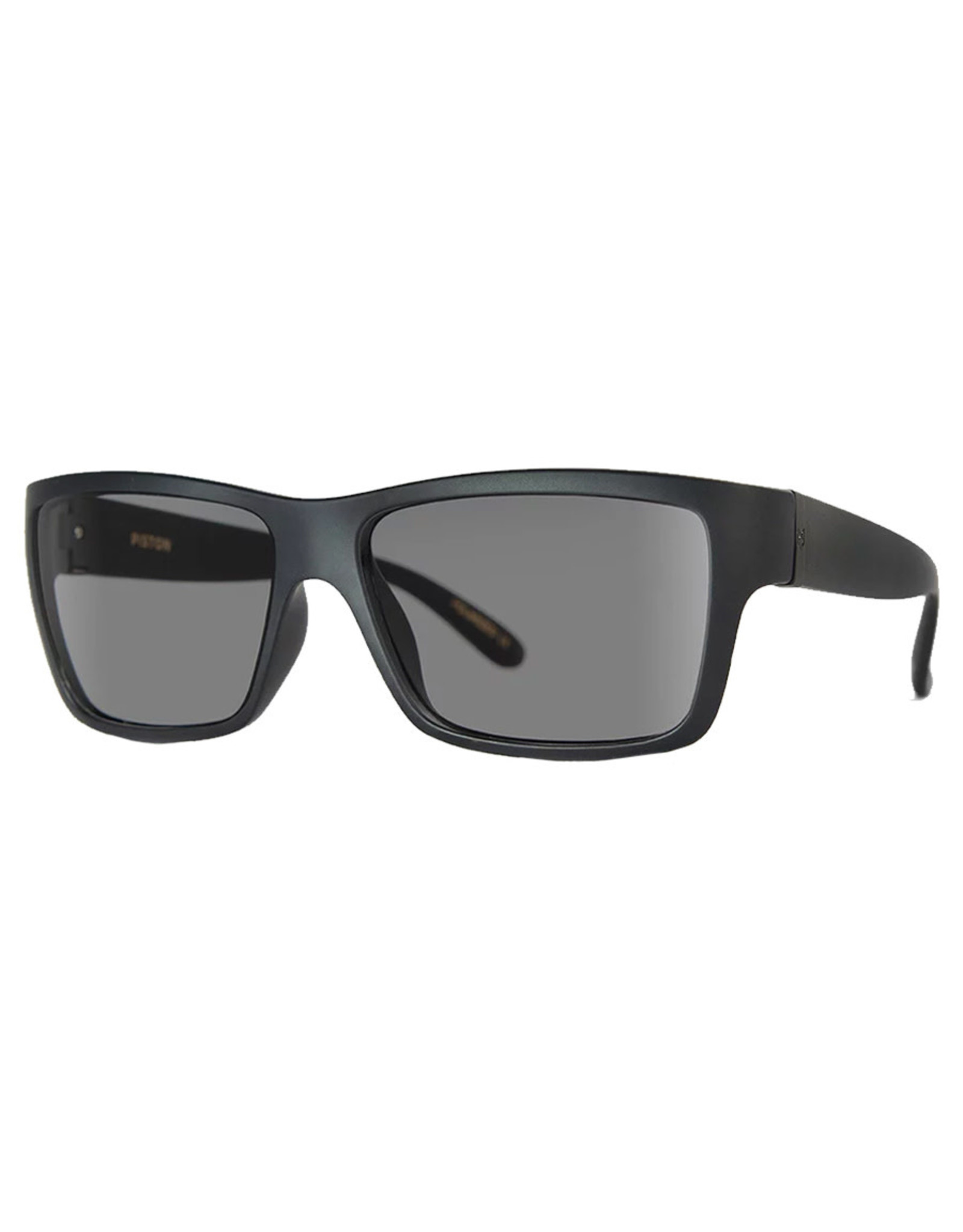 Madson Madson Sunglasses Piston (Black On Black/Grey Polarized Lens)