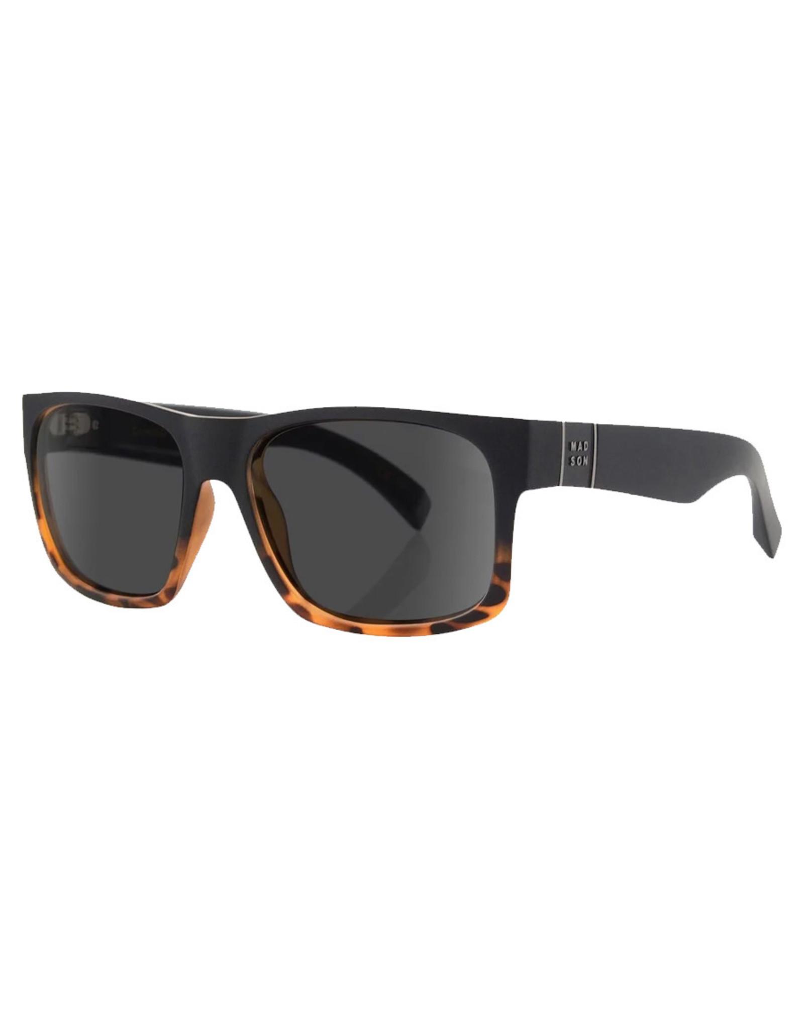 Madson Madson Sunglasses Classico (Black Tort Fade/Grey Polarized Lens)