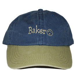 Baker Baker Hat Upside Snapback (Navy)