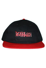 Deathwish Deathwish Hat Deathspray Snapback (Black/Red)