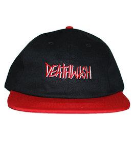 Deathwish Deathwish Hat Deathspray Snapback (Black/Red)