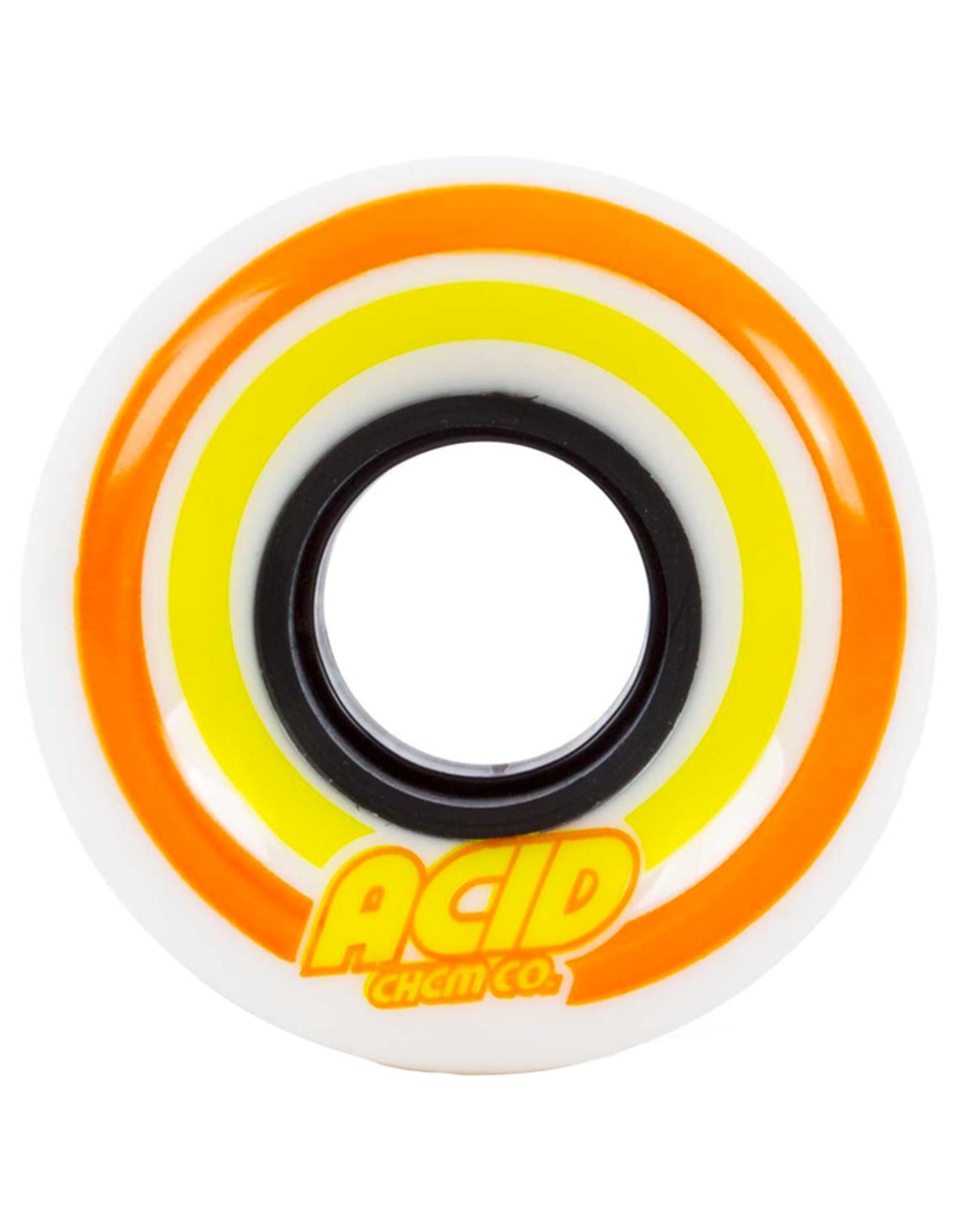 Acid Wheels Acid Wheels Pods Conical White (55mm/86a)
