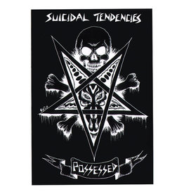 Star 500 Concert Series On Hollywood Sticker Suicidal Tendencies Possesed