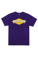 Thrasher Thrasher Tee Mens Diamond Logo S/S (Purple)
