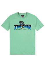 Thrasher Thrasher Tee Mens Leopard Mag S/S (Mint)