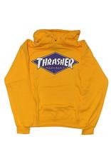 Thrasher Thrasher Hood Mens Diamond Logo (Gold)
