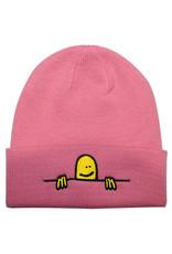 Thrasher Thrasher Beanie Gonz Sad Logo (Light Pink)