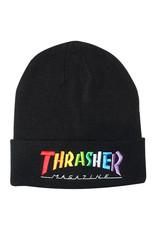 Thrasher Thrasher Beanie Rainbow Mag (Black)