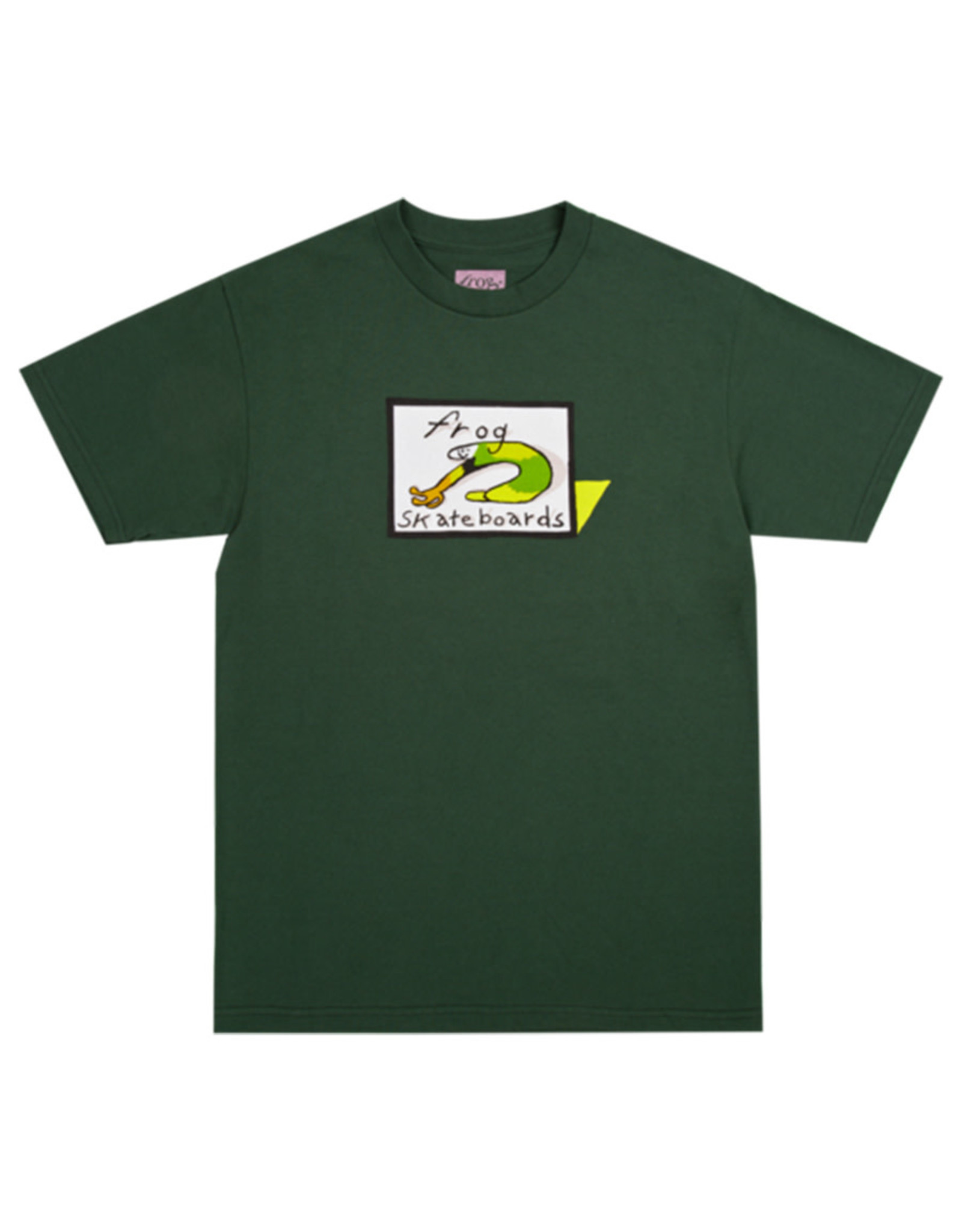 Frog Frog Tee Classic Logo S/S (Forest Green)