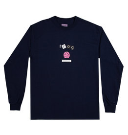 Frog Frog Tee Lady Bug L/S (Navy)