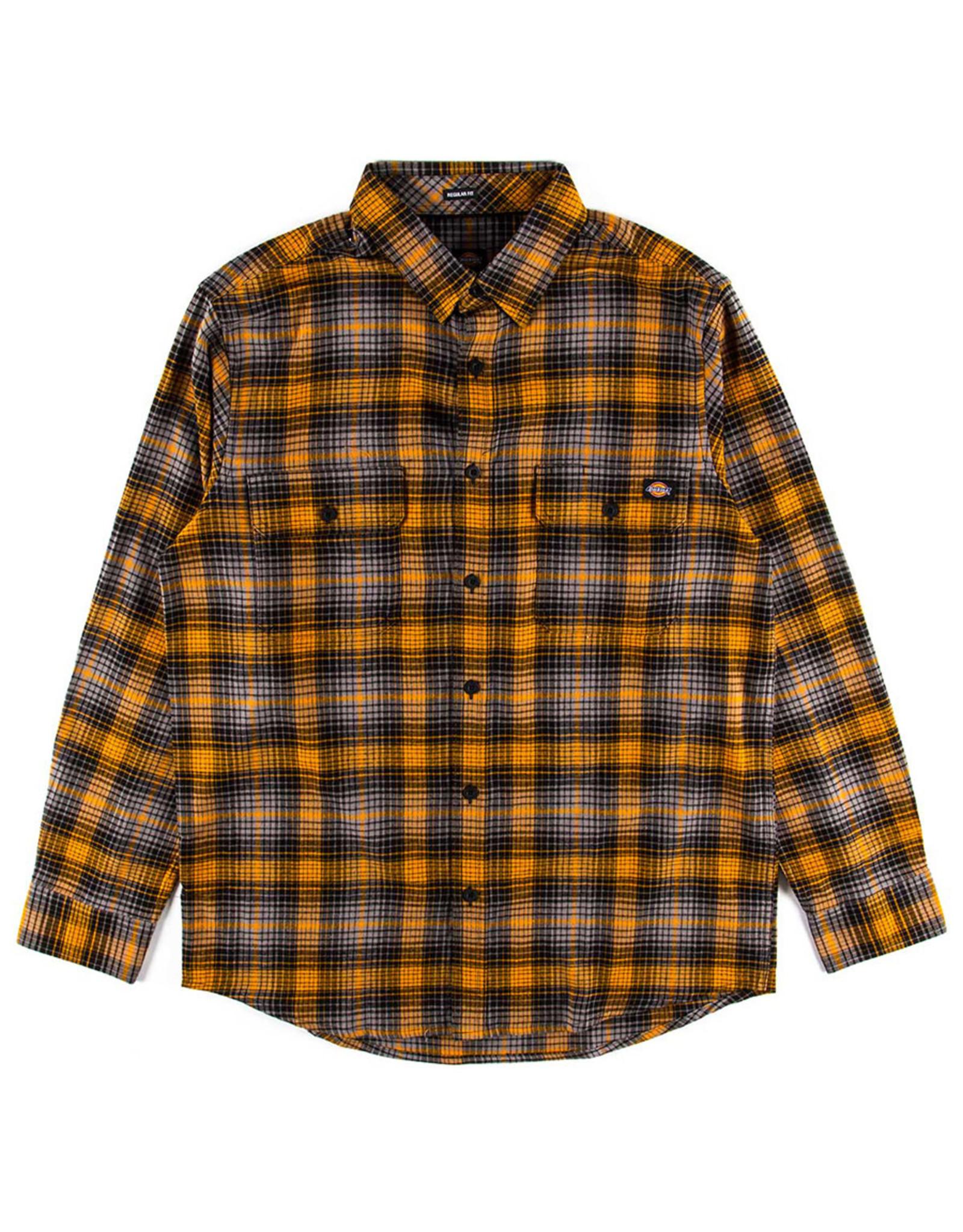 Dickies Dickies Flannel Regular Fit Flex (Autumn Gold/Grey Plaid)
