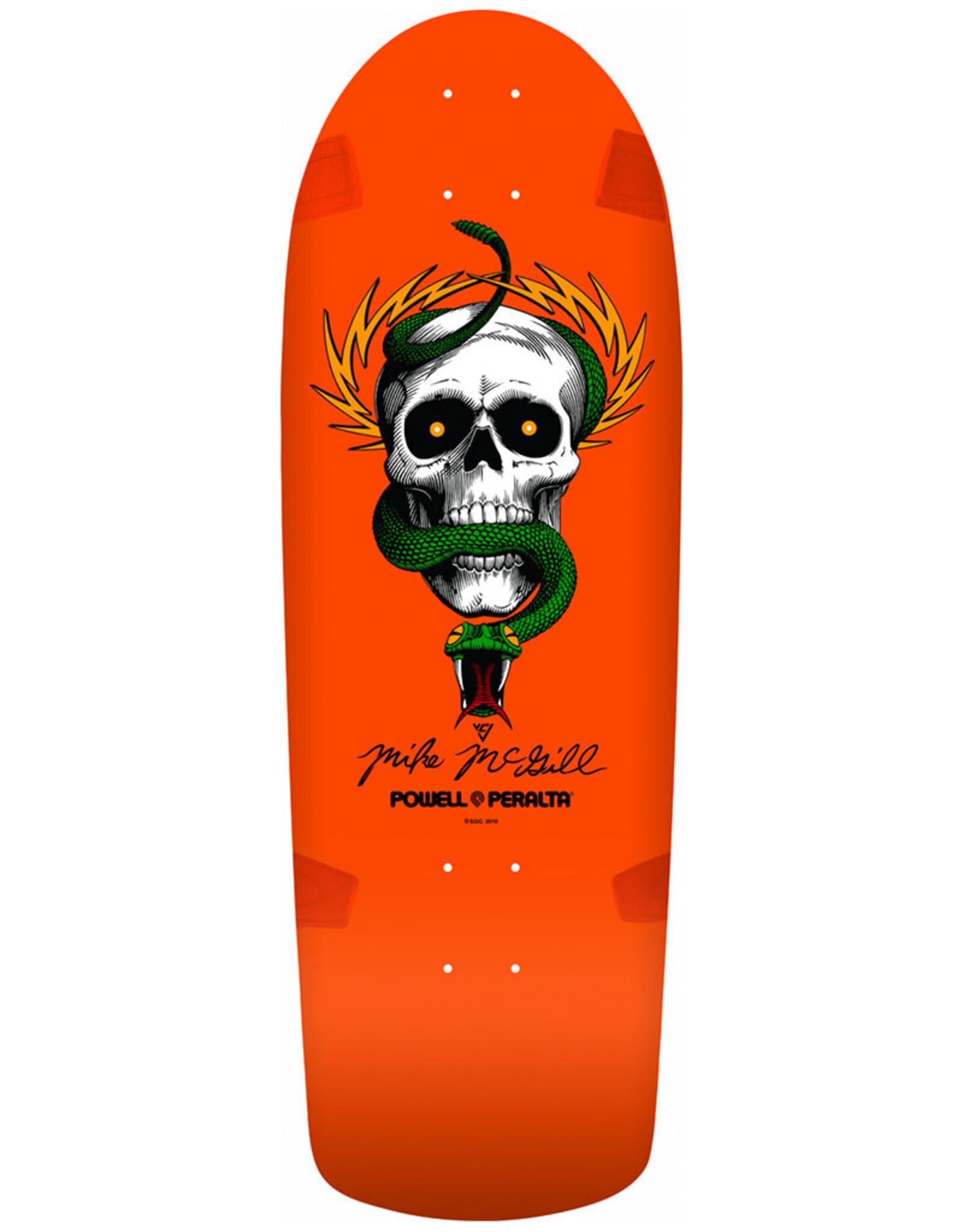Powell Peralta Powell Peralta Deck OG McGill Skull And Snake Re-Issue Orange (10.16)