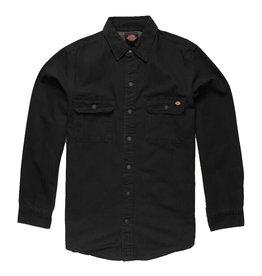 Dickies Dickies Flannel Regular Fit Lined Duck (Rinsed Black)