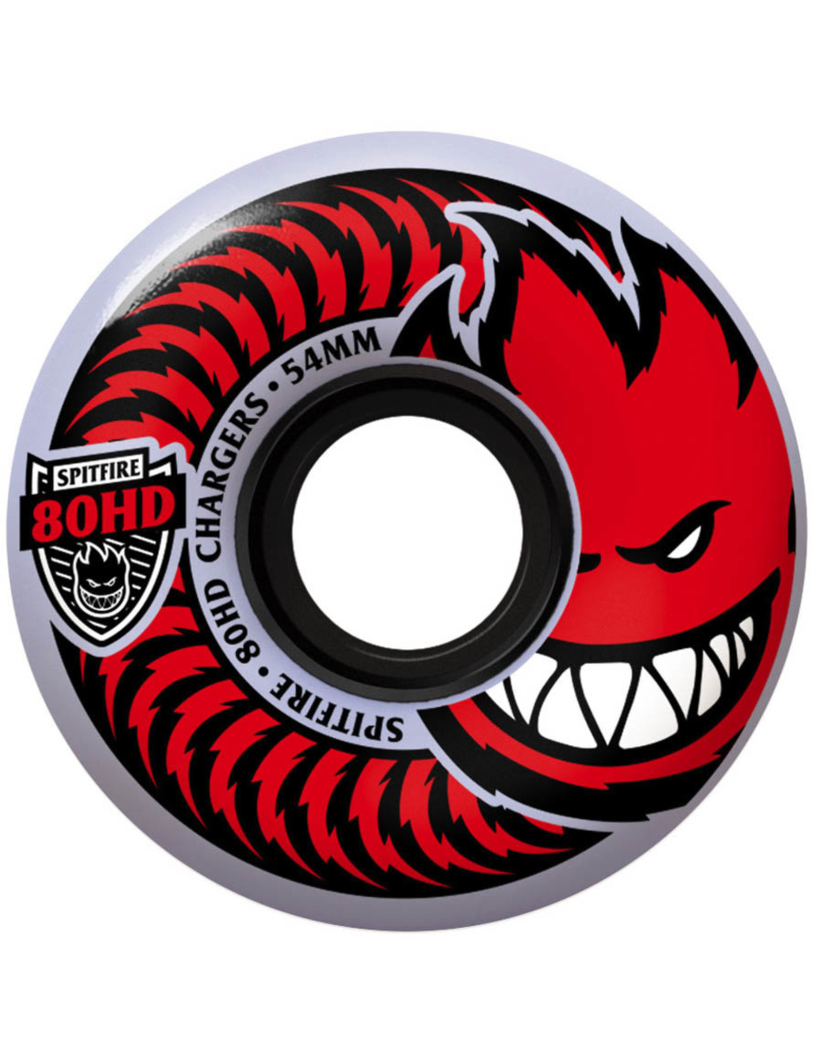 Spitfire Spitfire Wheels 80HD Charger Classic Clear (54mm/80d)