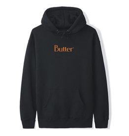 Butter Goods Butter Goods Hood Speckle Classic Logo Pullover (Black)