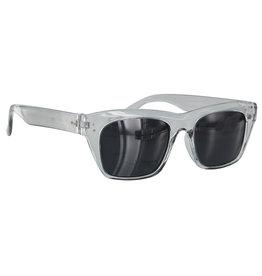 Glassy Sunglasses Glassy Sunglasses Santos (Clear Gloss/Grey Polarized Lens)