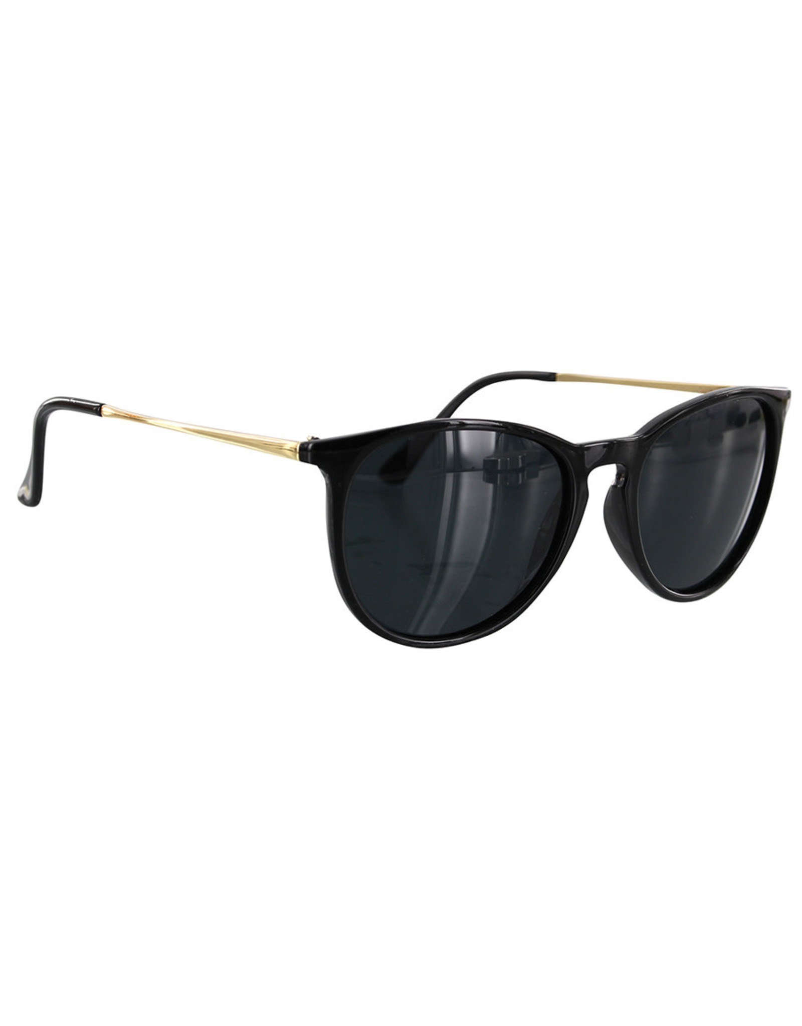 Glassy Sunglasses Glassy Sunglasses Sierra (Black Gold/Grey Polarized Lens)