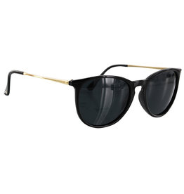 Glassy Sunglasses Glassy Sunglasses Sierra (Black Gold/Grey Polarized Lens)