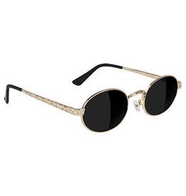 Glassy Sunglasses Glassy Sunglasses Zion Premium (Gold/Grey Polarized Lens)