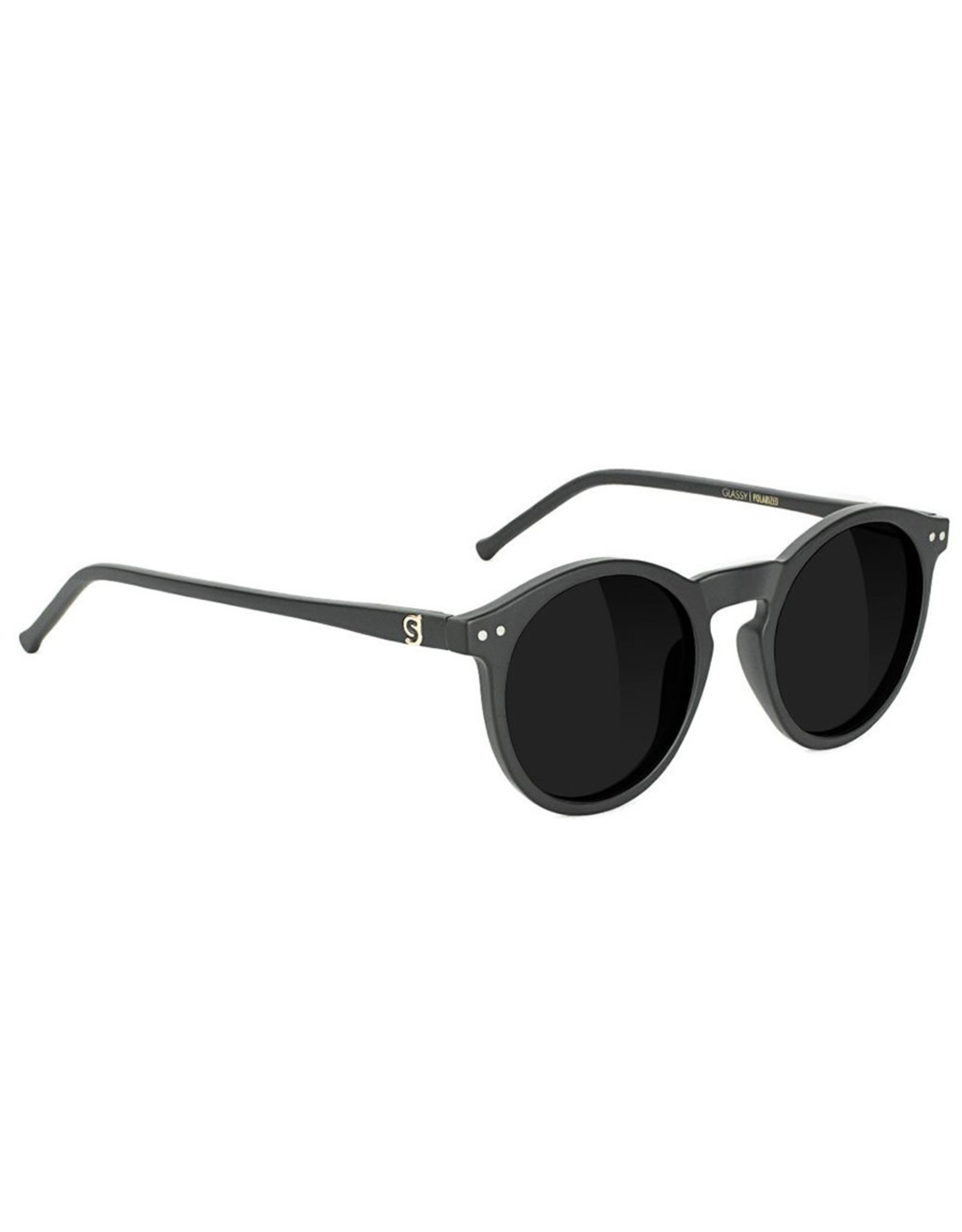 Glassy Sunglasses Glassy Sunglasses TimTim Premium (Black Matte/Grey Polarized Lens)