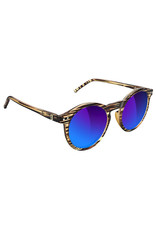 Glassy Sunglasses Glassy Sunglasses TimTim Premium (Honey Gloss/Blue Mirror Polarized Lens)