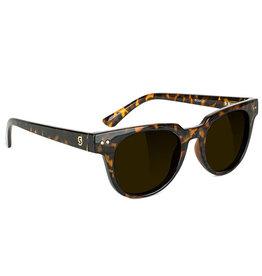 Glassy Sunglasses Glassy Sunglasses Lox Premium (Tort Gloss/Brown Polarized Lens)
