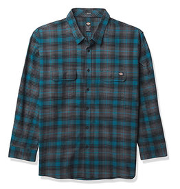 Dickies Dickies Flannel Regular Fit Flex (Deep Sky/Black Plaid)