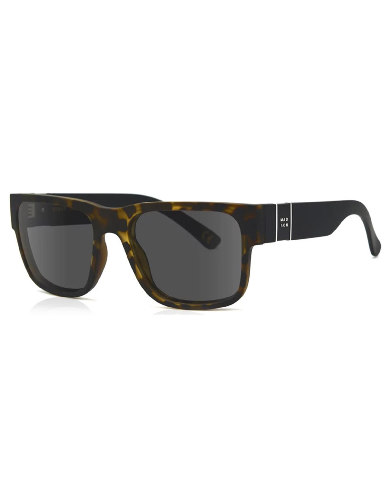 Madson Madson Sunglasses Strut (Black Tortoise Fade/Grey Polarized Lens)