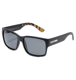 Madson Madson Sunglasses Classico (Black Matte Flag/Grey Polarized Lens)