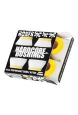 Bones Bones Bushings Hardcore Yellow/White (Medium)