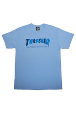Thrasher Thrasher Tee Mens Sk8 Mag Checkers S/S (Blue)