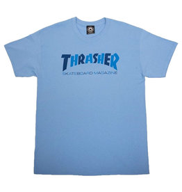Thrasher Thrasher Tee Mens Checkers S/S (Blue)
