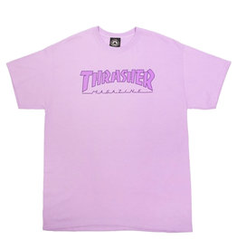 Thrasher Thrasher Tee Mens Outlined S/S (Purple)