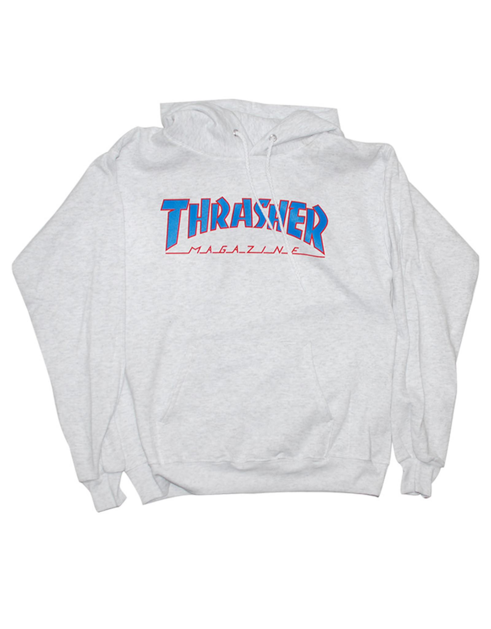 Thrasher Thrasher Hood Mens Outlined (Grey)