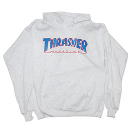 Thrasher Thrasher Hood Mens Outlined (Grey)