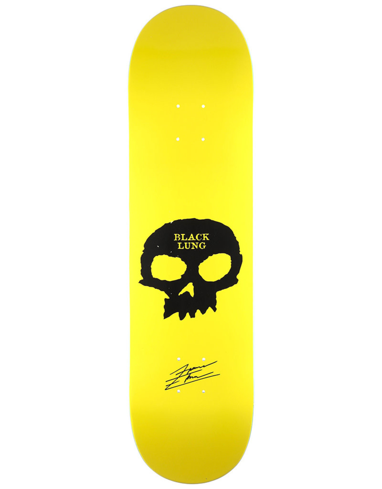 Zero Skateboards Zero Deck Forrest Edwards Black Lung (8.25)