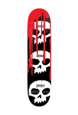 Zero Skateboards Zero Deck Team 3 Skull Blood (7.75)