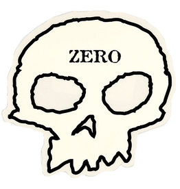 Zero Skateboards Zero Sticker Skull
