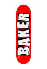 Baker Baker Deck Team Brand Logo Red/Black/White (8.25)
