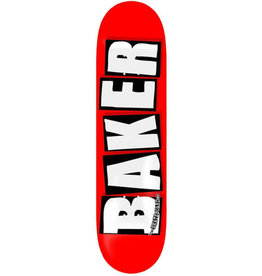 Baker Baker Deck Team Brand Logo Red/Black/White (8.25)