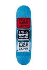 Freedome Free Dome Deck 66/99 Classic Red/Black (8.5)