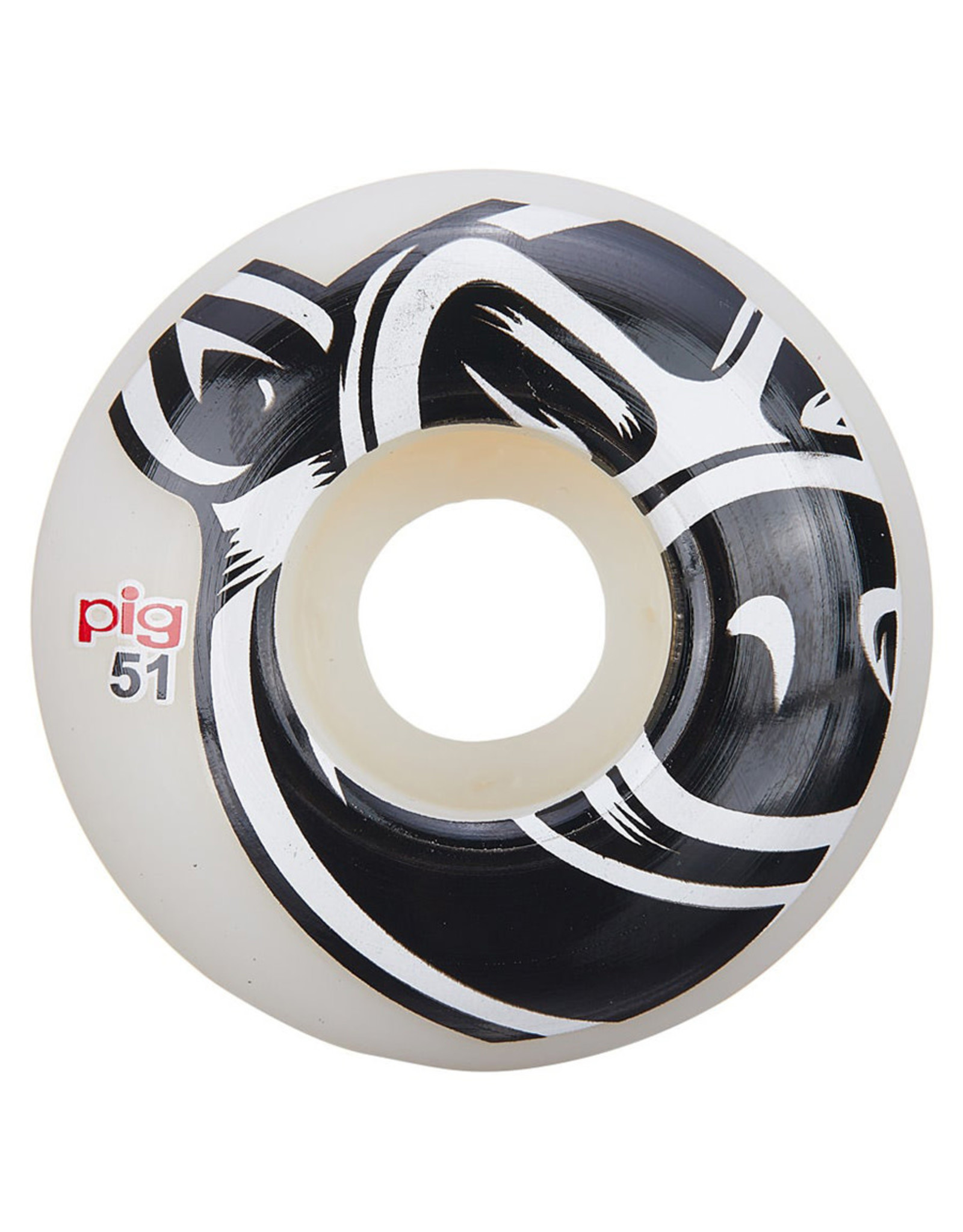 Pig Pig Wheels Head Natural White (51mm)