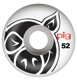 Pig Pig Wheels Head Natural White (52mm)
