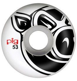 Pig Pig Wheels Head Natural White (53mm)