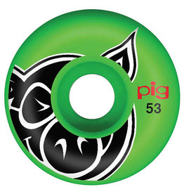 Pig Pig Wheels Proline Green (53mm/101a)