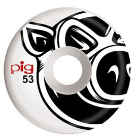 Pig Pig Wheels Head C-Line White (53mm)